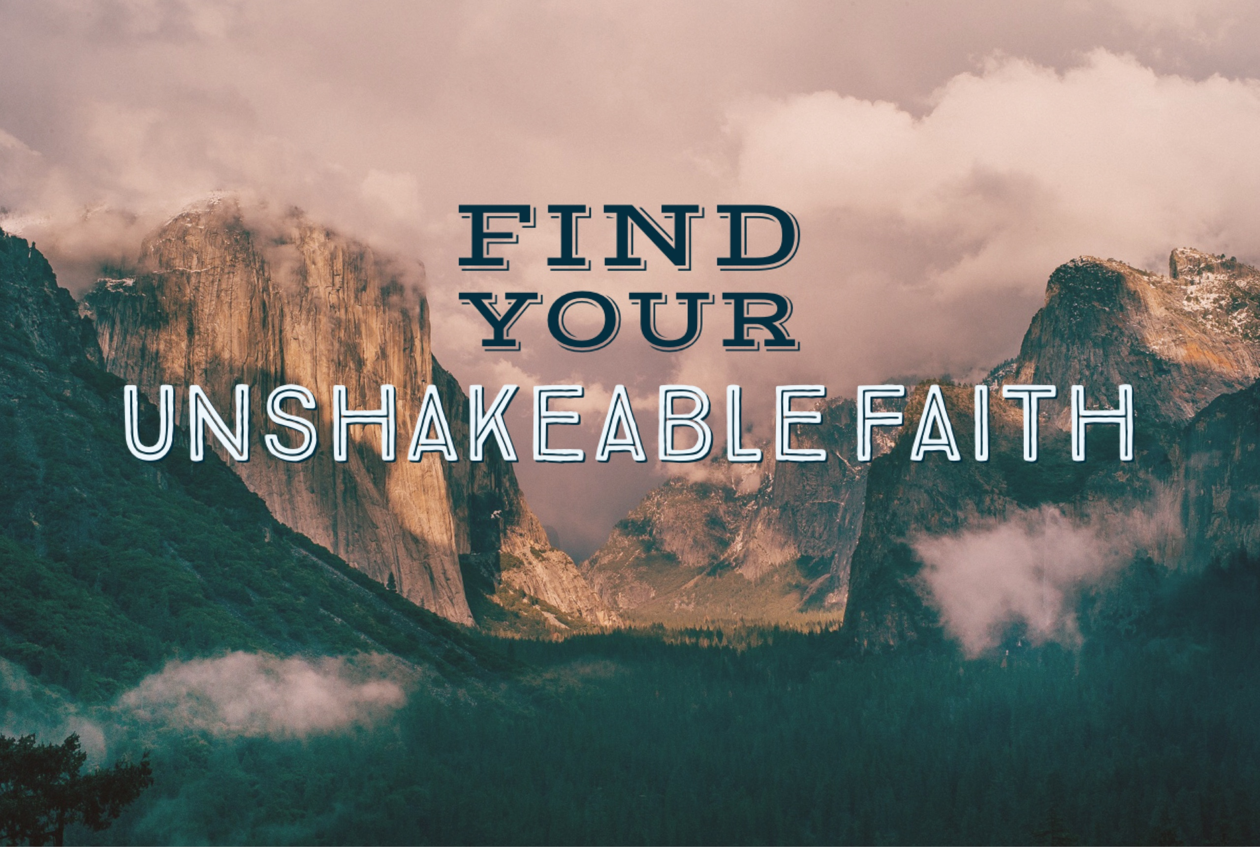 Unshakeable-faith