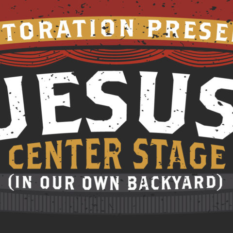 Jesus Center Stage